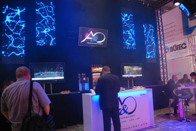 Am Stand von A&O Technology in Halle 9.0