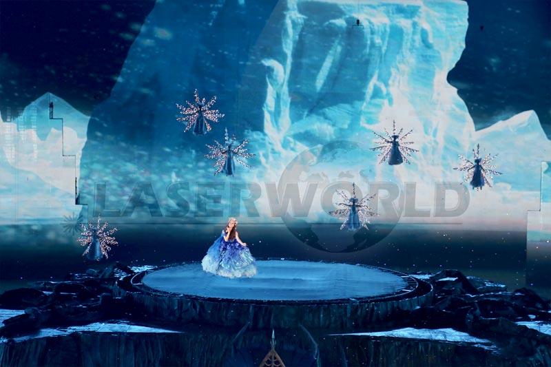 Laserworld im Olympiastadion Peking