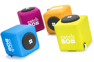 Microfon von Catchbox throwable microphone