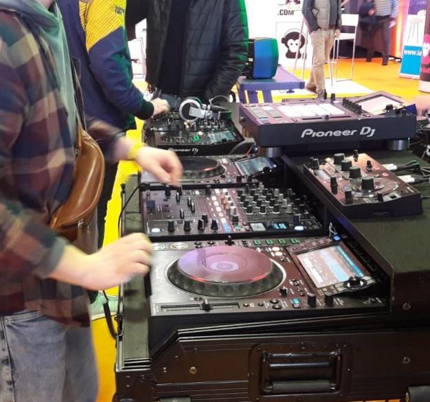 Laute Beats & heiße Platten