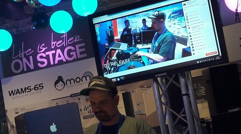 DJ Release Show Prolight + Sound Omnitronic