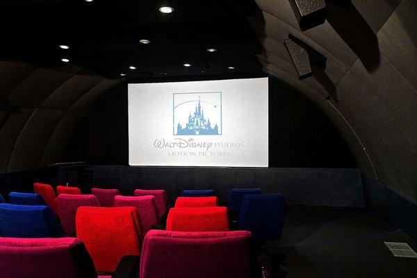 Disney Abnahmestudio mit zur Überprüfung der Sounds