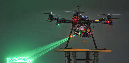Kvant-Laser-Drone