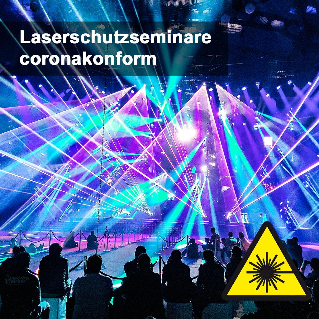 Laserschutzseminare coronakonform
