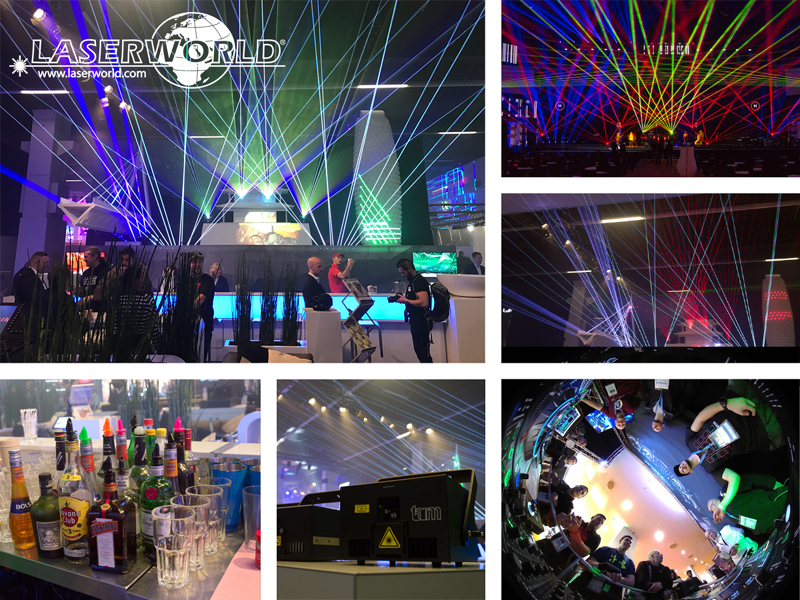 Laserworld auf der Prolight + Sound 2017