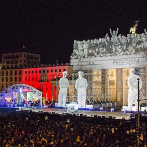 Neue Stahltower von MILOS unterstützen Berliner Großveranstaltung