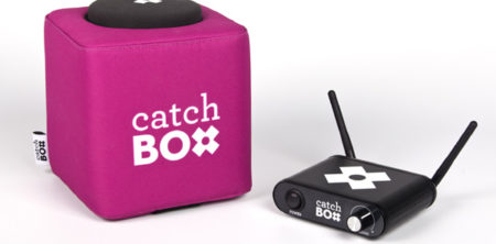 Mikrofon-Innovation: Catchbox