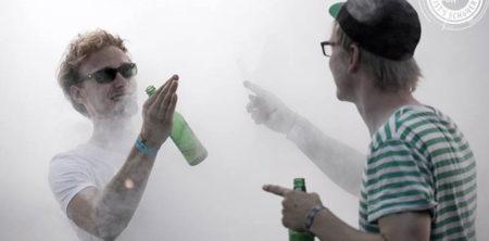 Nebelmaschine-Festival