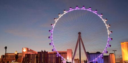 Riesenrad-Las-Vegas-Lichtshow