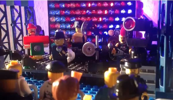 Lego goes concert