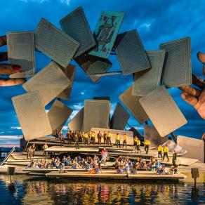Wasserfest: Seebühne Bregenz setzt auf SGM-Leuchten