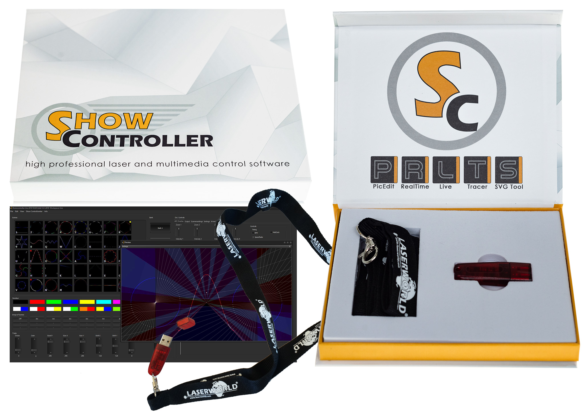 Laserworld Showcontroller Prolight + Sound