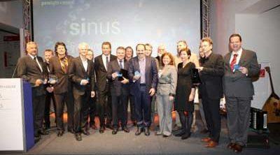 Gewinner und Laudatoren aus dem Vorjahr