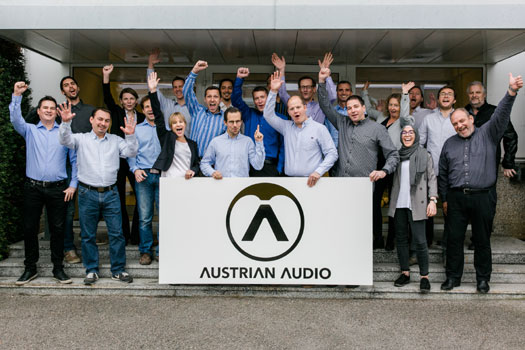 Team Austrian Audio Prolight + Sound