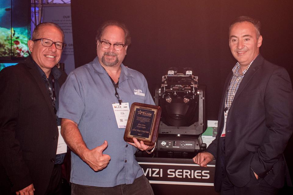 ADJ Lightning PLSN Award 2017 Auszeichnung