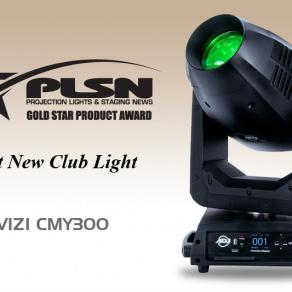 Neuester ADJ Moving Head erhält PLSN Gold Star Product Award