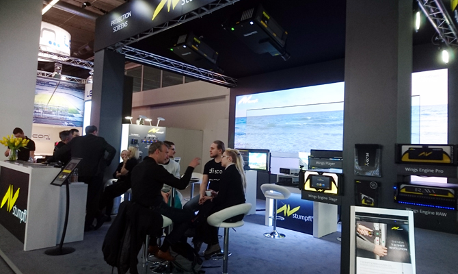 AV Stumpfl Stand Prolight + Sound 2018
