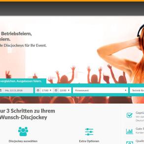 Neue Plattform: DJ buchen bei Discjockey.de