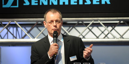 PLS 2009 Pressekonferenz Sennheiser