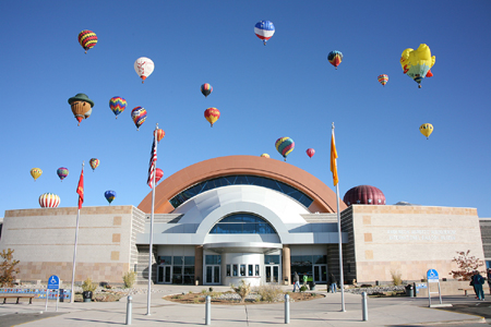 ETC Lichtsteuerungssystem Ballonmuseum