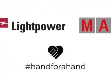 #handforahand: Lightpower und MA Lighting helfen gezielt