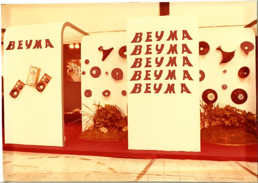 Beyma Stand Musikmesse 1974