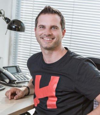Matthias Wellmeyer von der HOF Alutec Metallverarbeitungs GmbH & Co.KG aus Mettingen