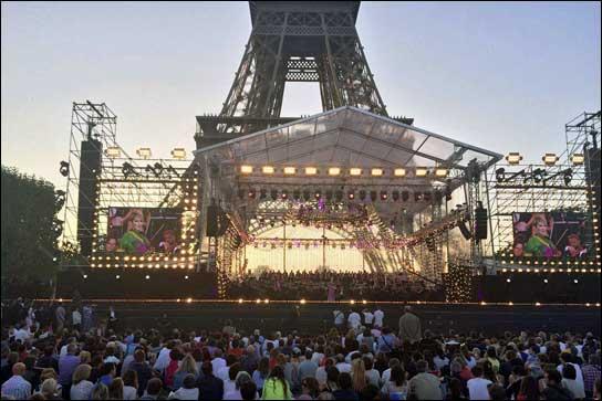 Frankreich feiert Nationalfeiertag mit Lawo