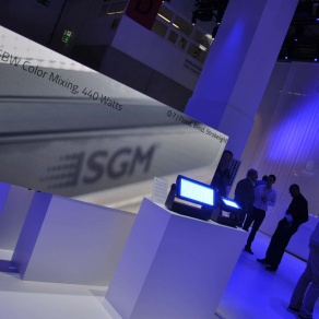 Von Italien nach Frankfurt: LED-Screen-Lösungen von SGM VIDEO