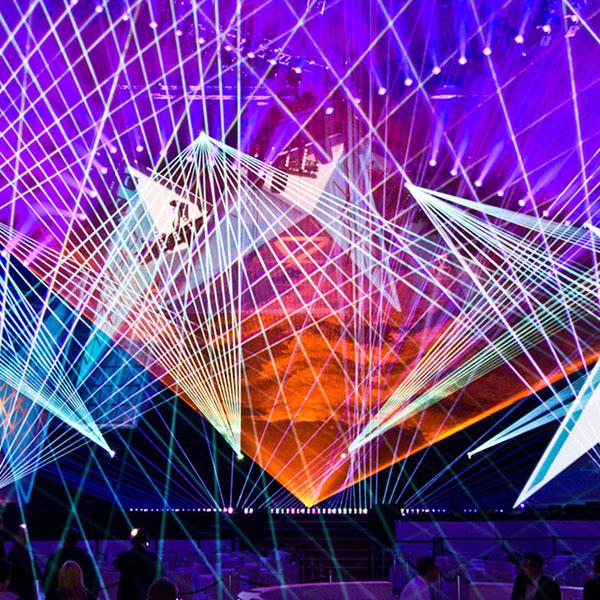 Neuregelung für Lasershows in der Schweiz