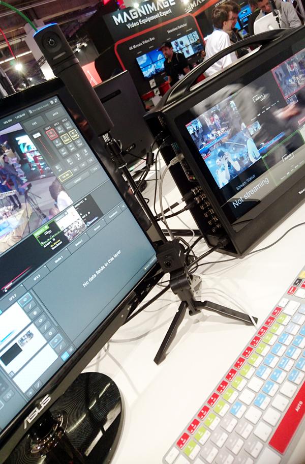 Livestream präsentierte seine Produkte im Live Production Forum auf der Prolight + Sound 2018