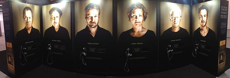 Inszenierung Faces behind the voices