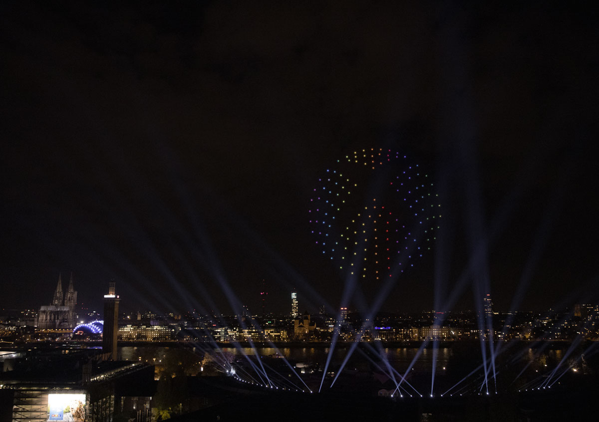 Nocturne Drone Shows XBOX Launch Celebration 2020